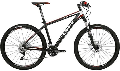 Bh-Bicicleta de montaña Expert 27,5 7,5, color rojo y negro, talla ...