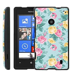 [ManiaGear] Design Graphic Image Shell Cover Hard Case (Rose Vangtage) for Nokia Lumia 520