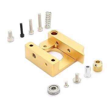 ARCELI All Metal Right MK8 Extrusora Aluminio Block Block DIY Kit ...