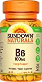 Sundown Naturals® Vitamin B-6 100 mg, 150 Tablets Review