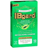 IBgard for Irritable Bowel Syndrome (IBS) Relief Bloating Gas 12 Capsules Small Box 90mg Ultra Purified Peppermint Oil Good For First Timers
