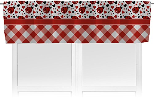 RNK Shops Ladybugs & Gingham Valance - Unlined ()