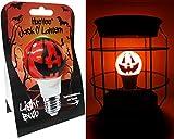 HueVee   Jack O' Lantern LED ~ Halloween Light Bulb   40/60 Watt Replacement (1 Pack)