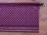 Mystic Amethyst ~ Plum Purple & Gold Sari Print India Valance 46×17 Review