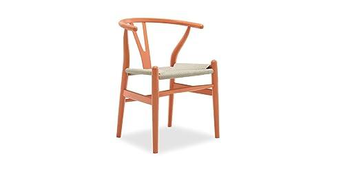 sessel stuhl replik ch24 y chair wishbone hans wegner designer vetrostyle hellbraun - Stuhl Replik