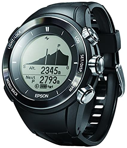 Epson wristable GPS para Trek reloj Running GPS 3d altitud Navegación para escalada mz-500b: Amazon.es: Relojes