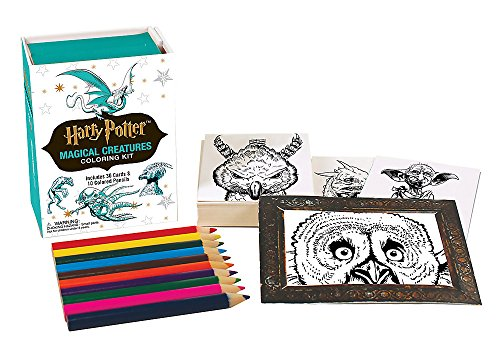 Pdf Science Fiction Harry Potter Magical Creatures Coloring Kit (Miniature Editions)