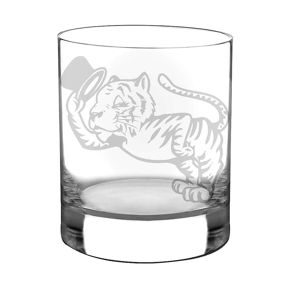 A Clemson Man Needs No Introduction 12 oz Whiskey Glass