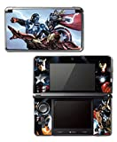 Avengers 2 Movie Iron Man Thor Captain America Hulk 3 Age of Ultron Thanos Video Game Vinyl Decal Skin Sticker Cover for Original Nintendo 3DS System