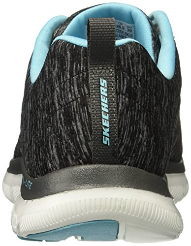 Türkis 0 Skechers Energy Sneaker Damen Schwarz 2 HIGH Appeal Flex xxq718U