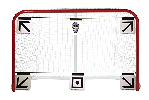 Hockey Revolution 6-piece Goal Targets Sharp Shooting Training Aid - MY TARGET PRO ()
