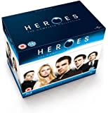 Heroes: The Complete Series - Seasons 1-4 Box Set [Blu-ray]