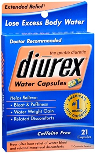 DIUREX Water Capsules 21 Capsules (Pack of 2) by Diurex