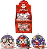 CHRISTMAS THEME FUN TOYS - MINI PINBALL GAMES FOR KIDS GIRLS AND BOYS X108 UNITS