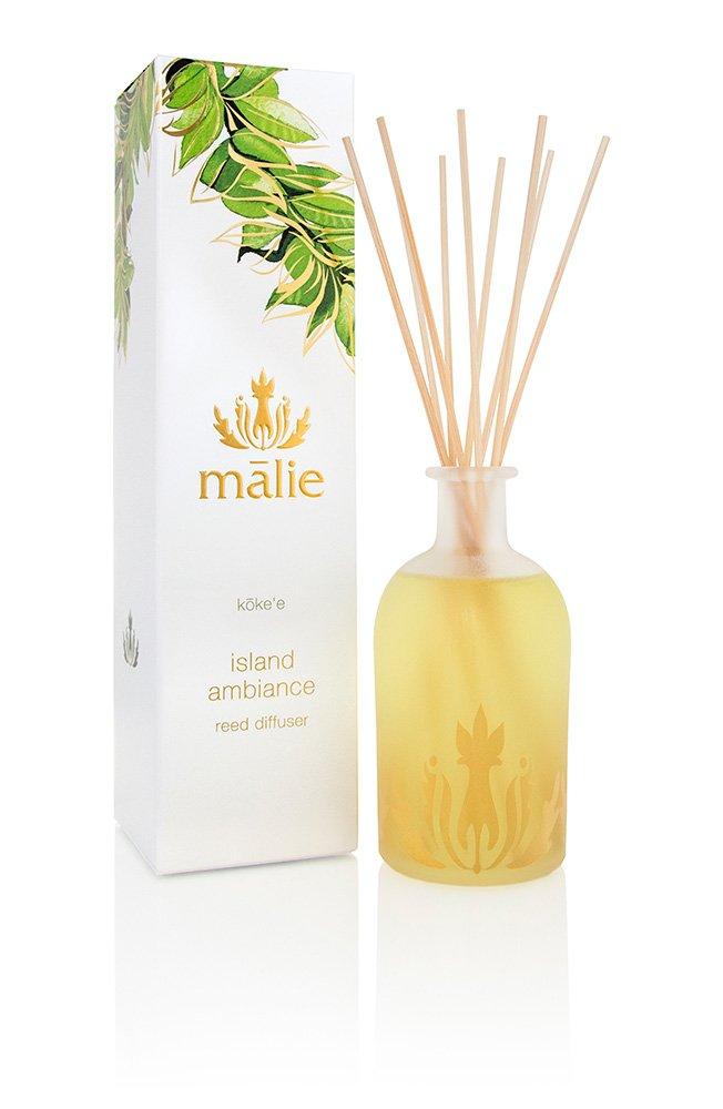 Malie Organics Island Ambiance Reed Diffuser, Koke'e by Malie Organics (Image #1)