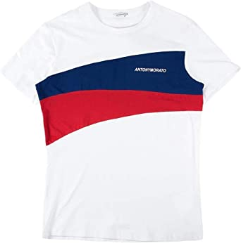 Antony Morato Camiseta Contrasti Blanco Hombre: Amazon.es: Ropa y accesorios