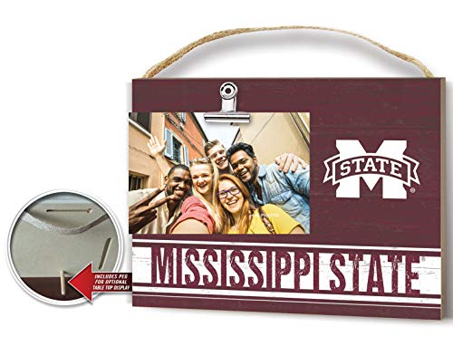 KH Sports Fan Clip It Colored Logo Photo Frame Mississippi State Bulldogs