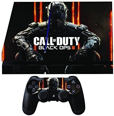 Call of Duty Black Ops 3 Premium Designer Limited Edition PS4 Skin + 2 Free PS4 Controller Skins by Gamergeekz: Amazon.es: Videojuegos