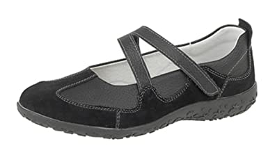 dfee736b94a4 Ladies Extra-Wide Fit EEE Leather Shoes  Amazon.co.uk  Shoes   Bags