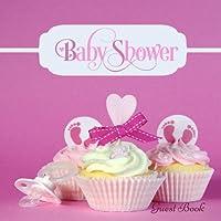 Baby Shower Libro de invitados: Mensaje memoria libro, recuerdo, con 100formatted de rayas &, páginas en blanco) con citas, foto páginas, volumen de ducha, para la familia... rústica de registro (recién nacidos libro de invitados de regalo) (21)
