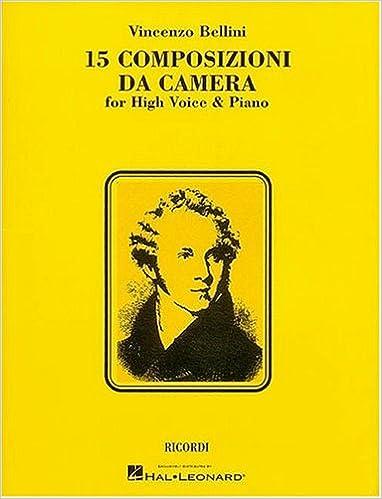 """""TOP"""" 15 Composizioni Da Camera: High Voice. account gestorum original Wellness domingo Medida their"