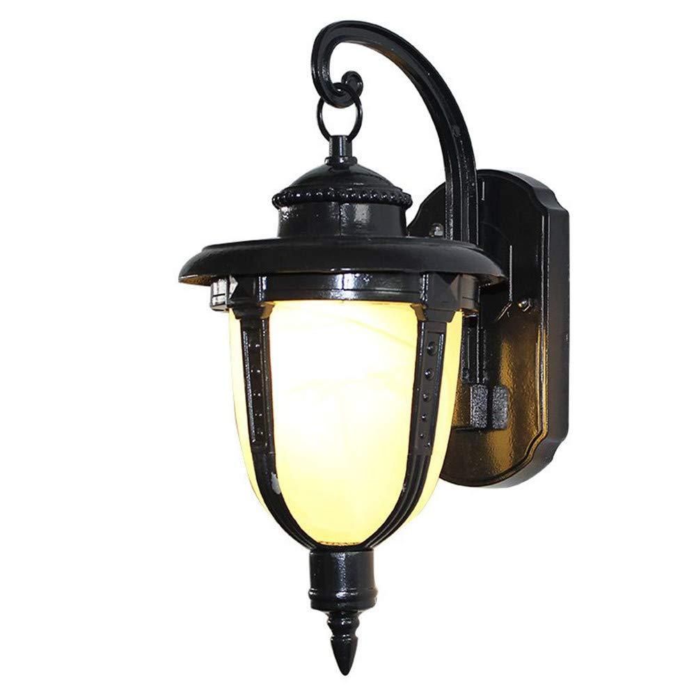 Ehime Außenwandleuchten Anti-Rost-und Anti-Korrosions-Outdoor-Lampe Wandleuchte Licht wasserdicht Rost-Boden Handgang Lichter Garten Dekoration Lampen