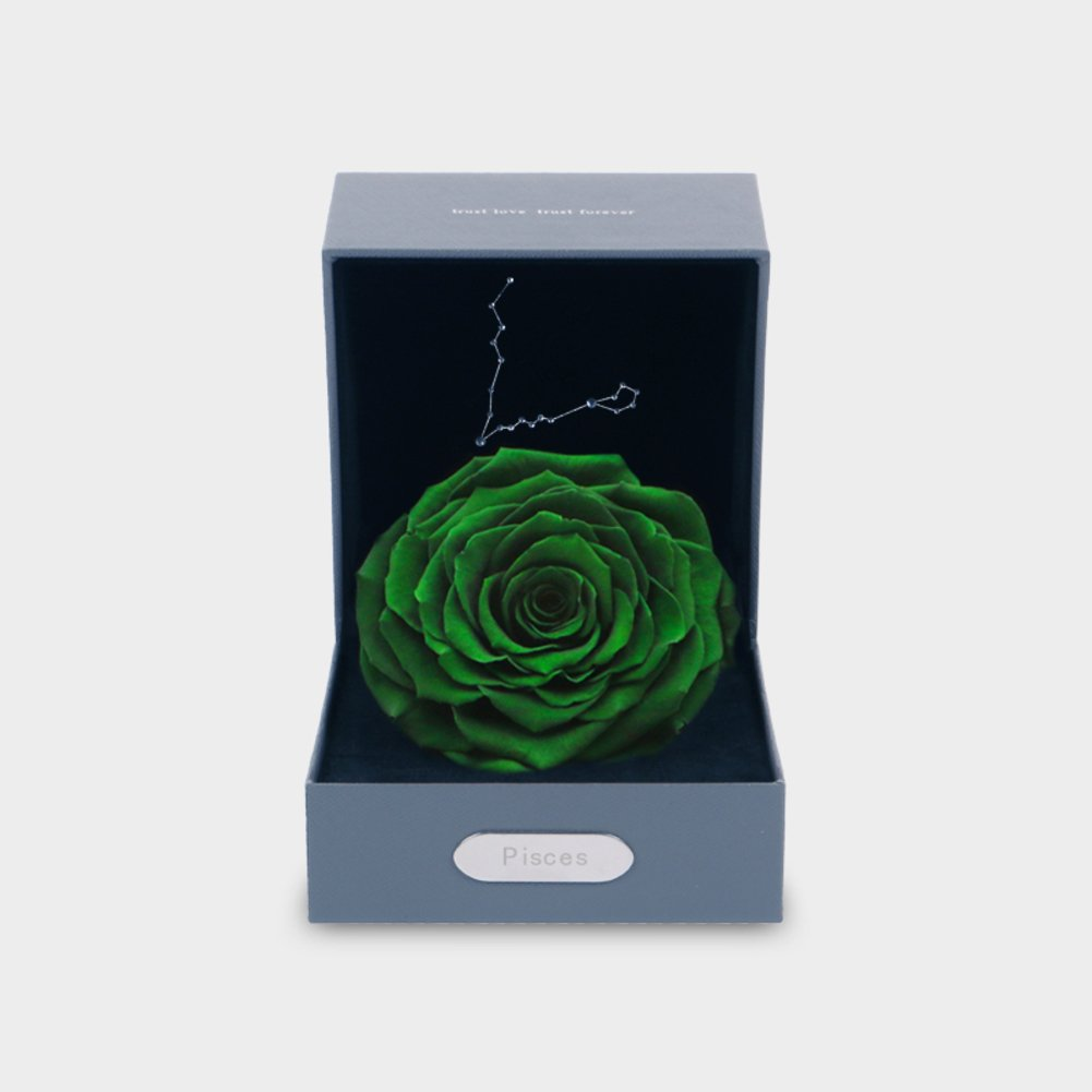 Immortal Flower Sign Flower Box/ The Rose Gift Box-A