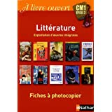 Litterature cm1 cycle 3 -fiches a photo.
