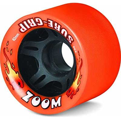 Sure-Grip Indoor Zoom Wheels - neon Orange : Sports & Outdoors