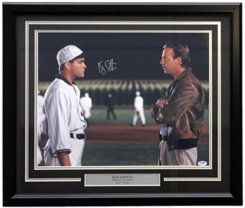 Ray Liotta Signed Framed 16x20 Field of Dreams Shoeless Joe Jackson Photo PSA (Shoeless Joe Jackson Framed Photo)