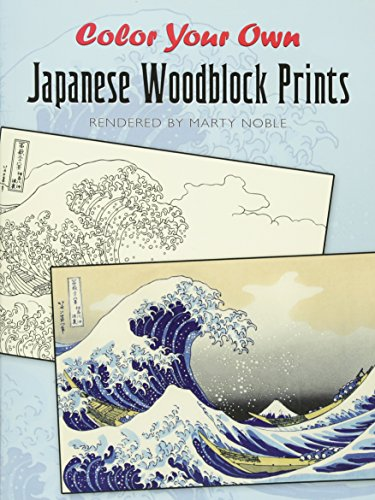ese Woodblock Prints (Dover Art Coloring Book) (Scrapbooking Pencils)