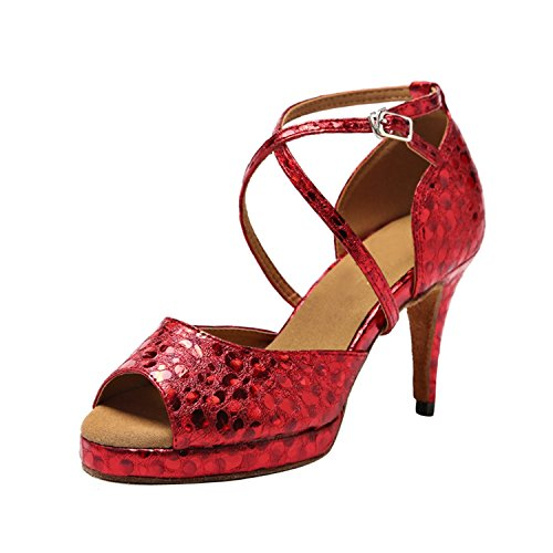 8 de femme Minitoo 5cm Red Heel Salle bal RwzRq8T