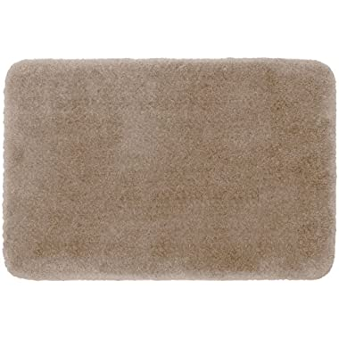 STAINMASTER TruSoft Luxurious Bath Rug, 17-By-24 Inch Linen