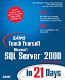 Microsoft SQL Server 2000, Richard Waymire and Rick Sawtell, 0672324695