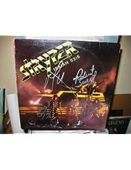 "STRYPER signed ""Isaiah 53.5"" album cover / UACC Rd # 212"