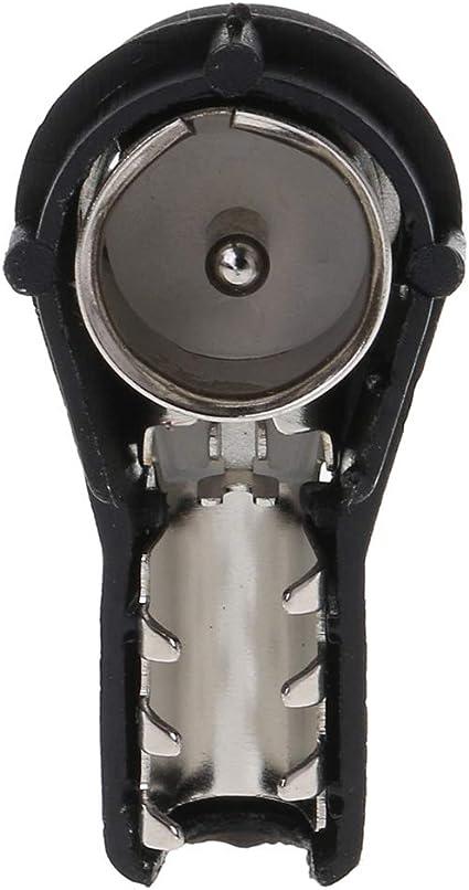 Connecteur autoradio st/ér/éo ISO m/âle /à sertir pour autoradio convertit les fils nus