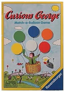 Curious George Match-a-balloon Game