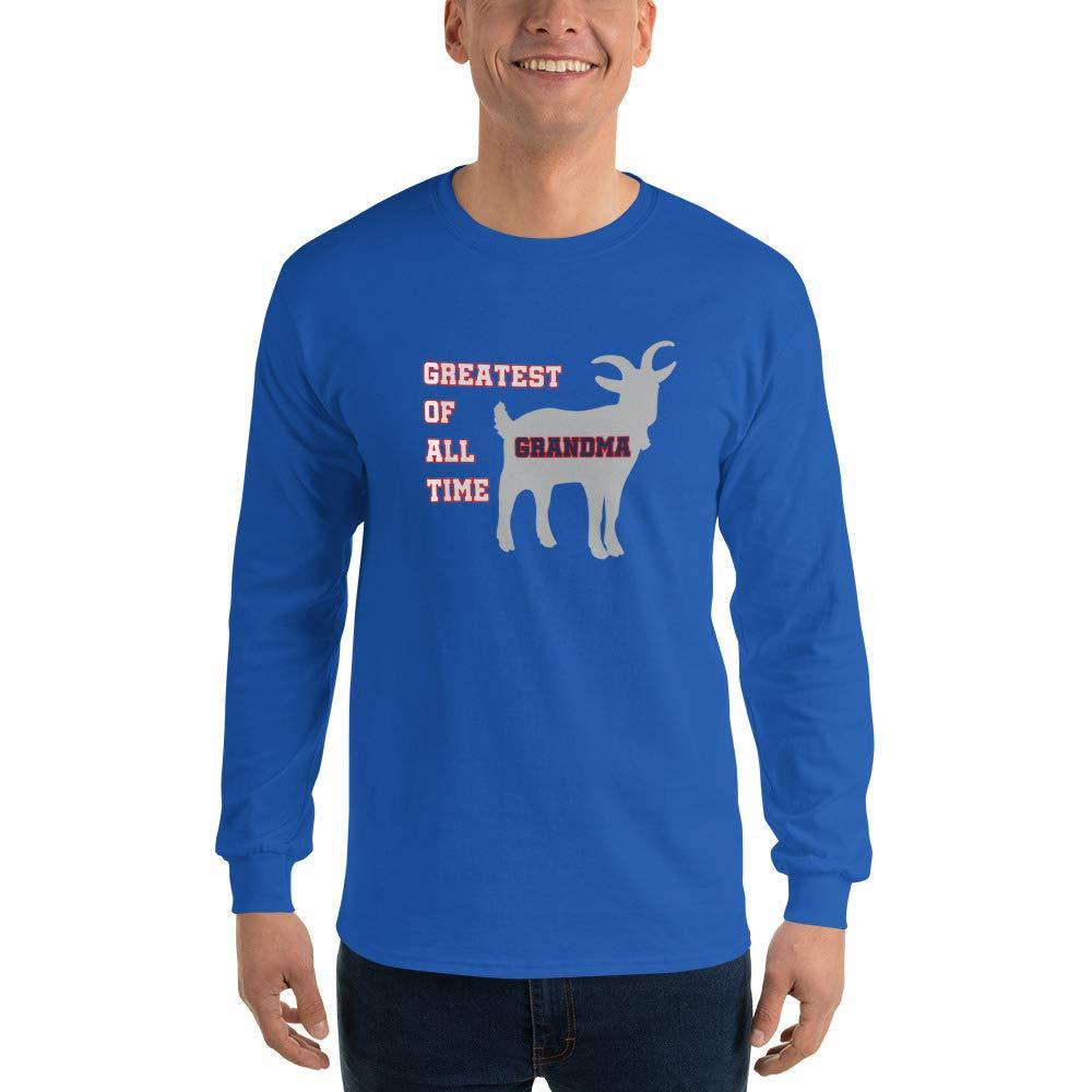 New England GOAT Farm Greatest of All Time Grandma Long Sleeve T-Shirt