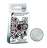 50 Grams Crystal Clay Two Part Epoxy Mix - Silver (Gray / Grey)