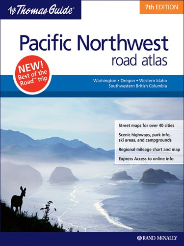 Thomas Guide Pacific Northwest Road Atlas (Best Wineries In Washington State)