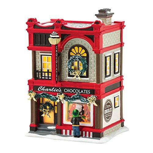"Department 56 by Enesco Snow Village""Christmas"" Sweets Porcelain Lit House"