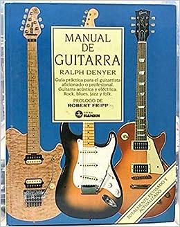 MANUAL DE GUITARRA: 9788486115296: Amazon.com: Books