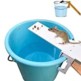 Features:1 .Fill the bucket up 1/3 ways with water if you wish for the trap to be lethal.2 .Find an object or a long stick and put it next to the bucket to make way for the mice to go up the bucket.3 NOTICE4 .Now Wait5 HOW TO USE MOUSE TRAP:6...