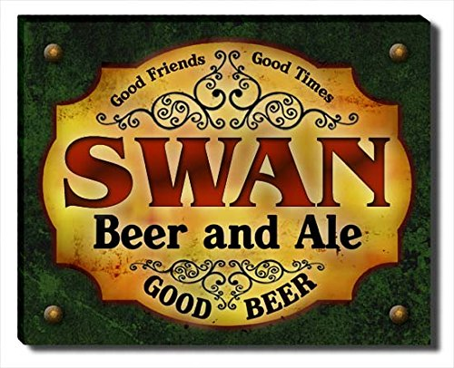 swan-beer-ale-stretched-canvas-print