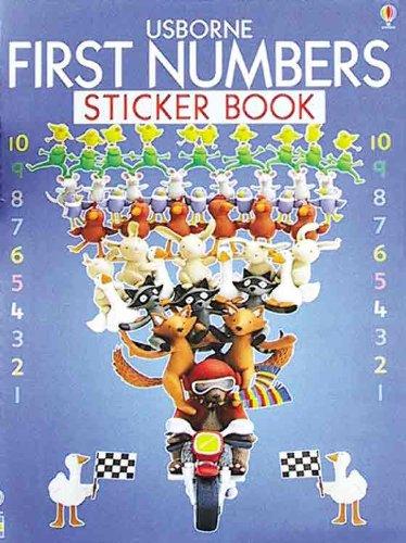 Download Usborne First Numbers Sticker Book PDF