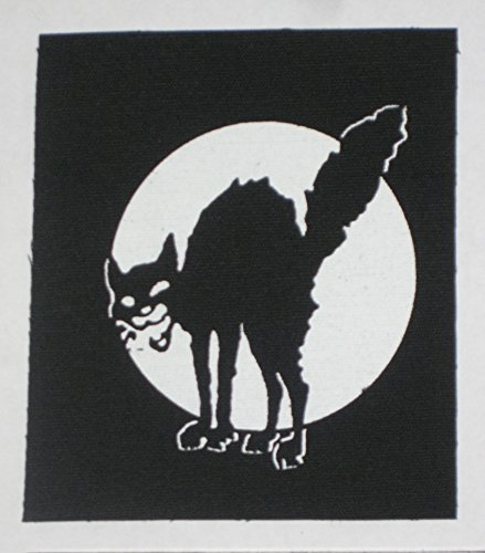 Class War Sabotage Cat Patch - Anti Media Authority Corporation Social Political Activism Anarchism Anarchy Government Anarcho Front ALF Punk Earth Human Rights Welfare Animal Liberation ALF Testing