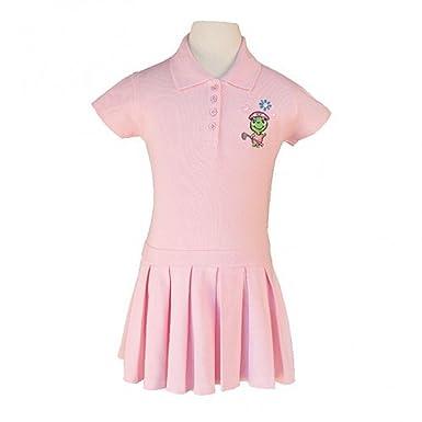 Amazon Com Littlest Golfer Pink Logo Polo Dress Baby Toddler Little