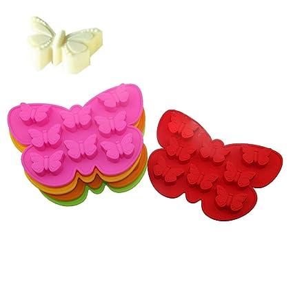 Shuda Molde de silicona para tartas diseño de reutilizable, moldes de jabón para decoración de