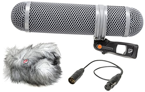 Rycote Super-Shield Kit, Medium, Includes Rear Pod, Front Pod, Windjammer, 17.71