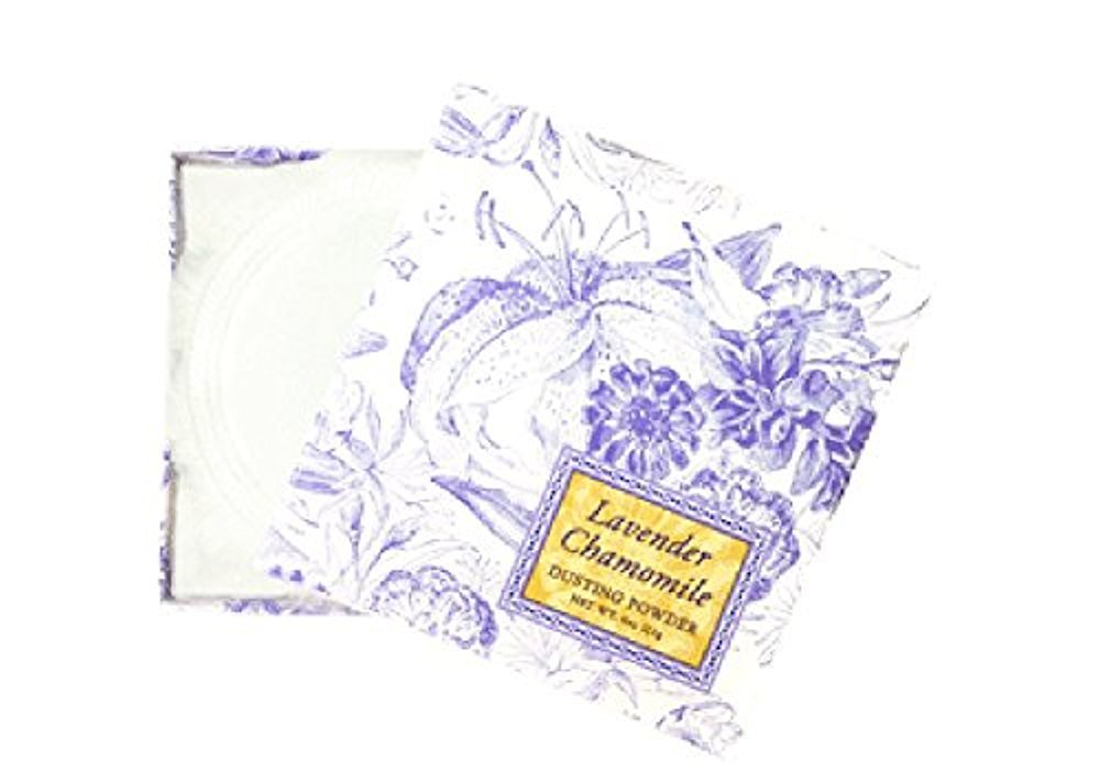 Greenwich Bay Trading Co. Dusting Powder, 4 Ounce, Lavender Chamomile